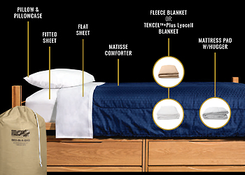 Bed-in-a-Bag Color and Style Options
